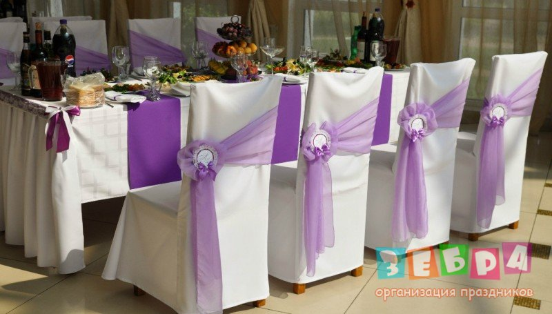 Чехлы на свадебные стулья своими руками фото