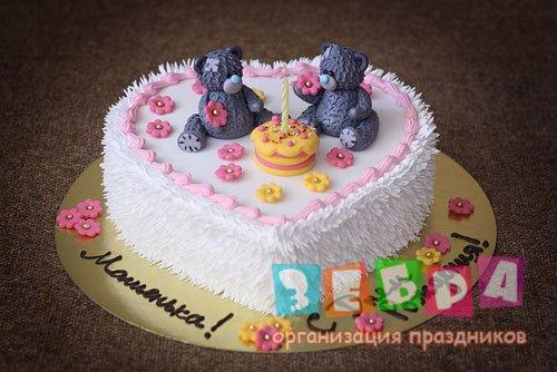 Фото тортики ведмедики
