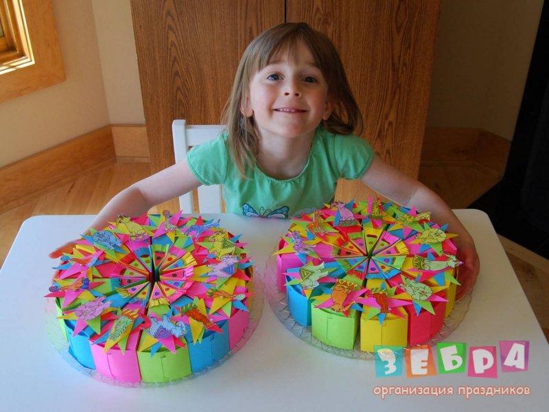 Торт для ребенка на день рождения своими руками фото