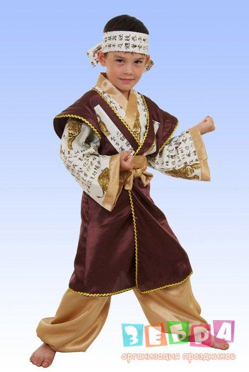 Как сделать костюм японца для мальчика