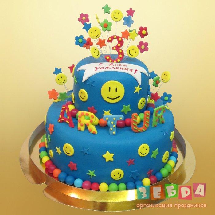 Детский торт для девочки - Пони-2.